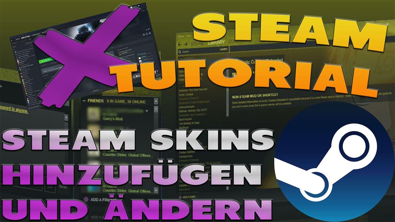 Steam Skins Hinzufügen und Ändern - Haton.net