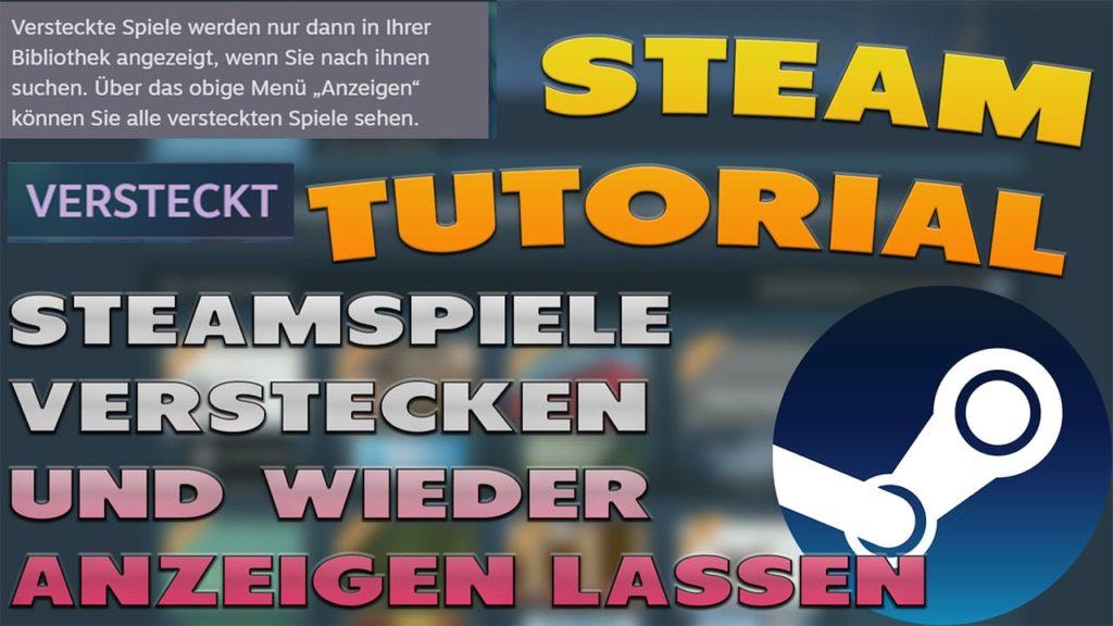 Steamspiele Verstecken und wieder anzeigen lassen - Haton.net