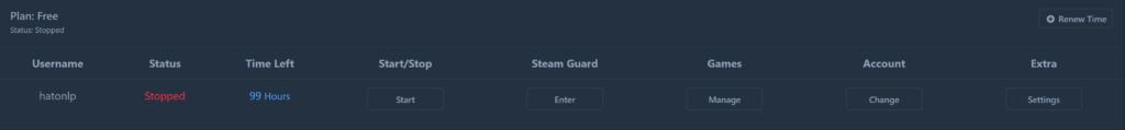 Spielstunden auf Steam farmen