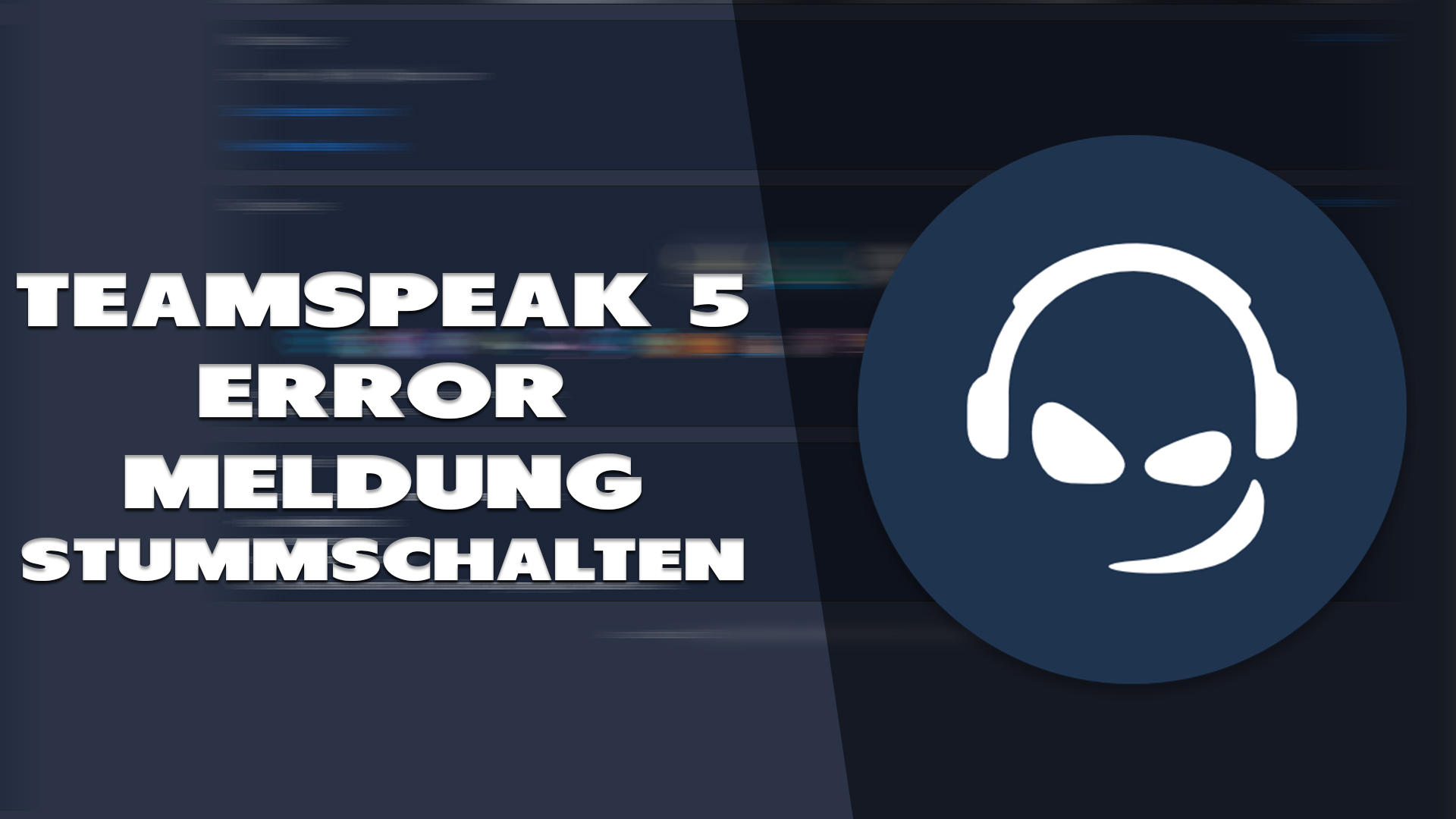 Error Meldung in Teamspeak 5 deaktivieren - Haton.net