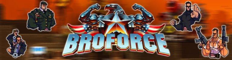Broforce Banner - Haton.net