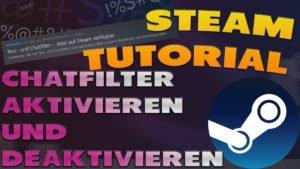 Steam Chatfilter aktivieren und deaktivieren - Haton.net