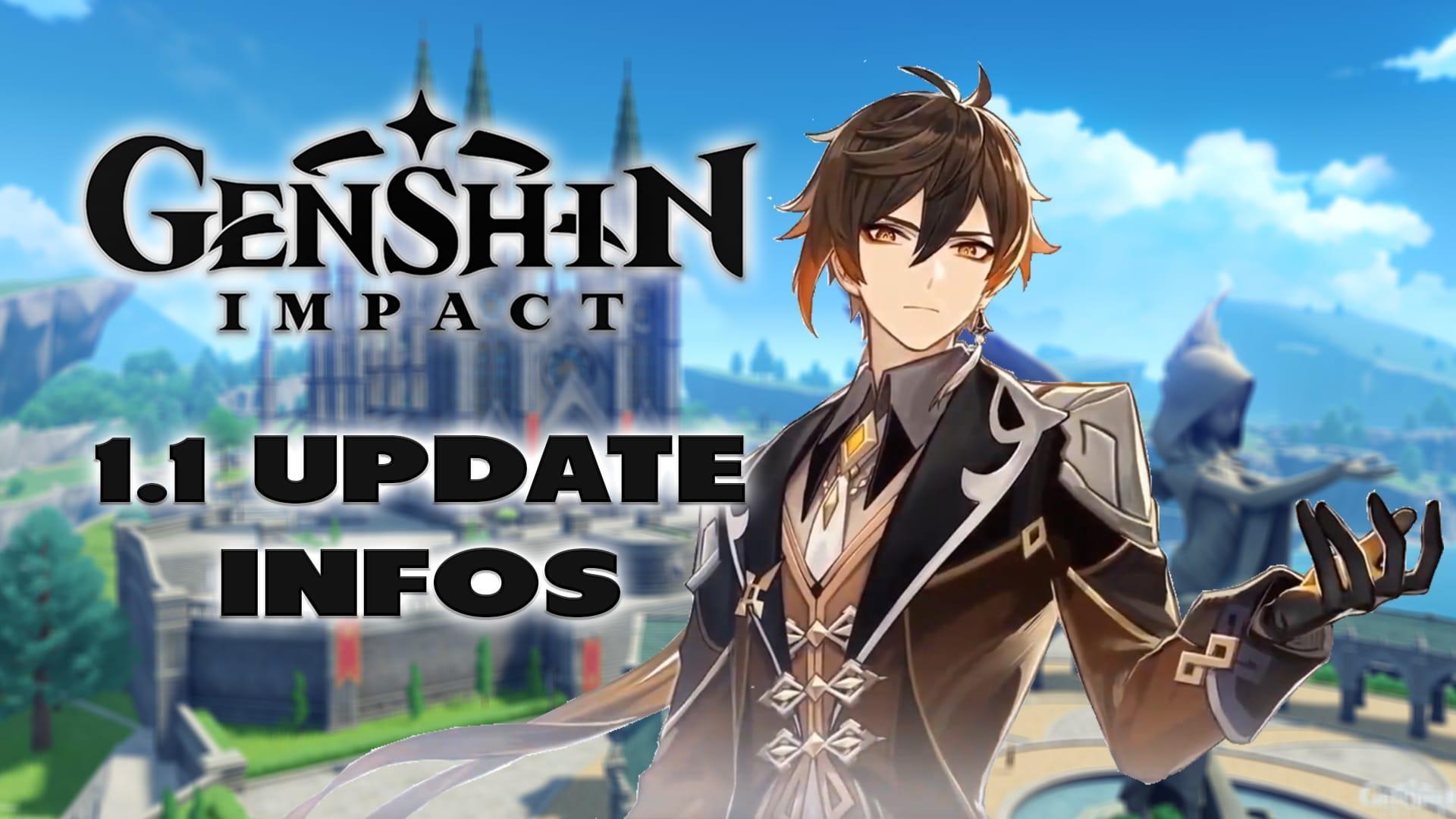Genshin Impact: 1.1 Update Informationen - Haton.net